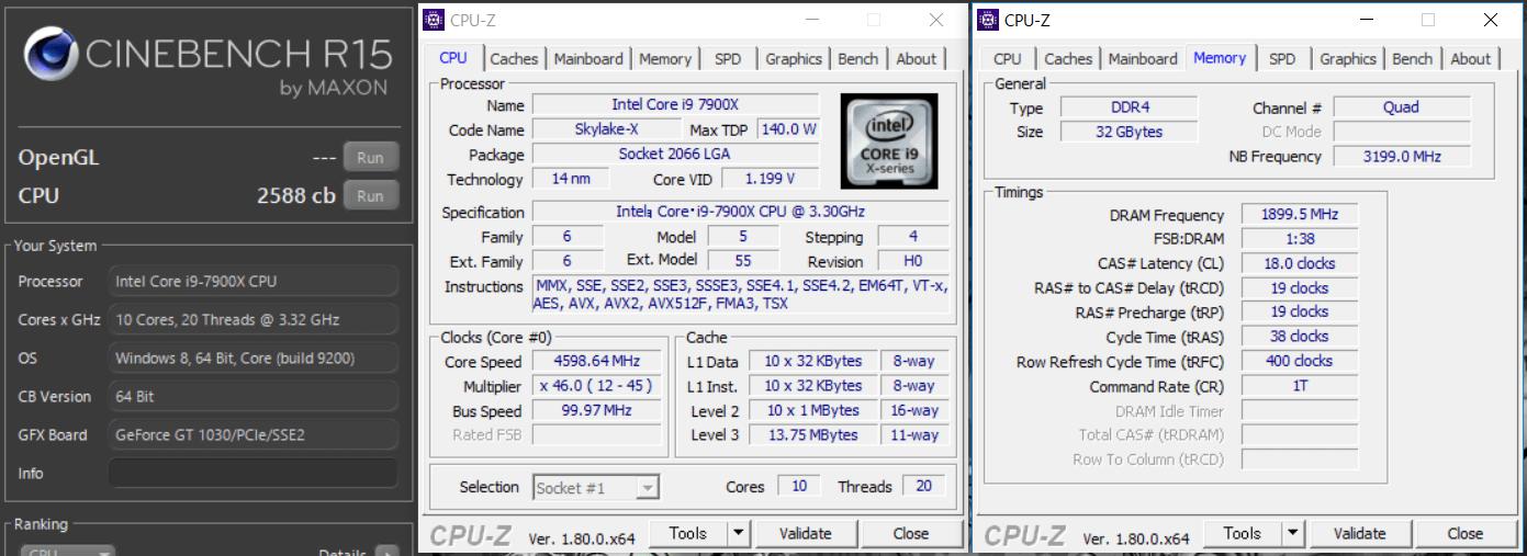 MSI X299 GAMING PRO CARBON AC_cine