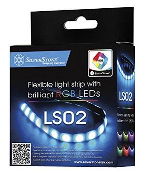 SilverStone LEDストライプ LED18個搭載(Yケーブル付属) SST-LS02