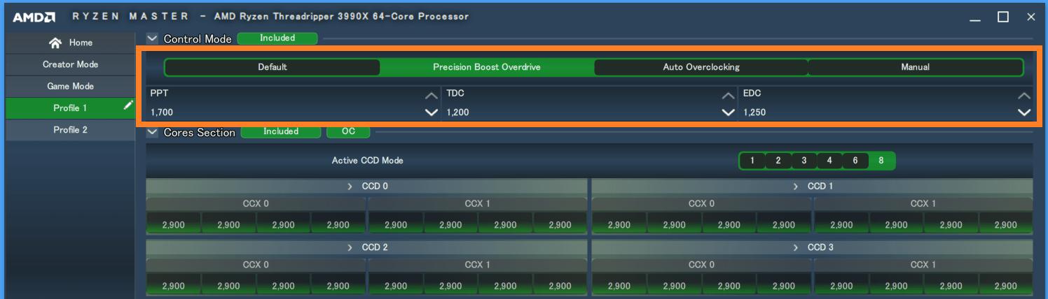 AMD Ryzen Threadripper 3990X_PBO_Default