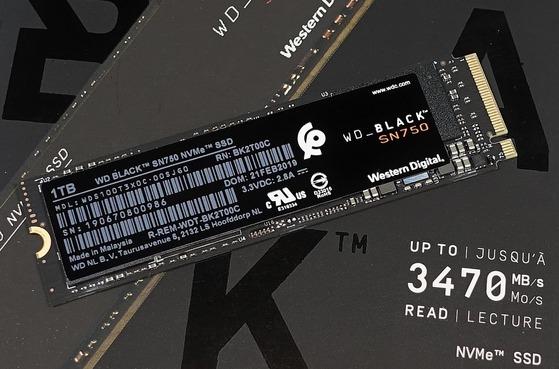 WD Black SN750 NVMe SSD 1TB