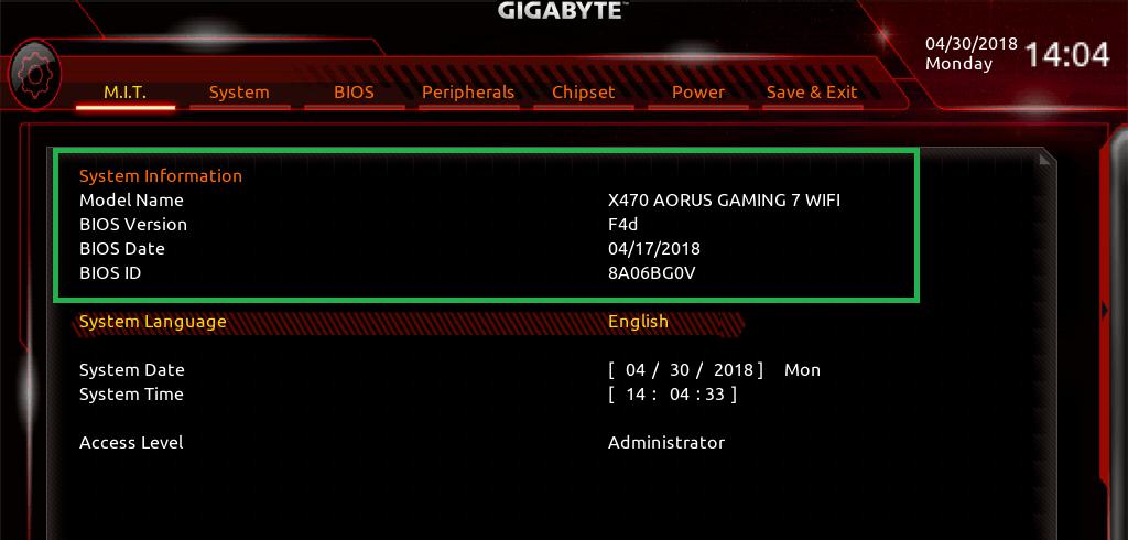 GIGABYTE X470 AORUS GAMING 7 WIFI_BIOS_5