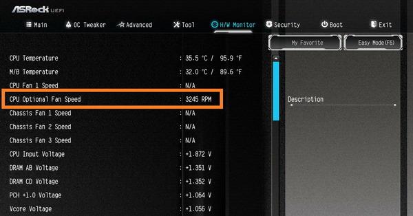 SilverStone PF360-ARGB_pump-speed