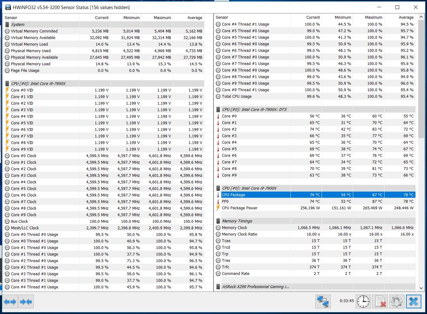 i9 7900CのOC耐性_1