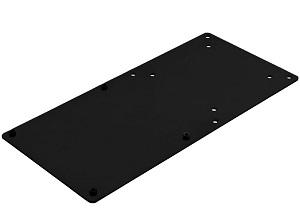 SilverStone VESAマウント拡張ブラケット NUC用 ブラック SST-MVA01