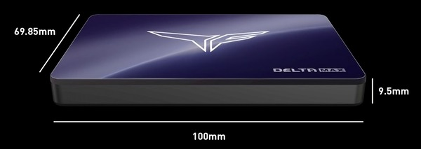 Team T-FORCE DELTA MAX SSD_size