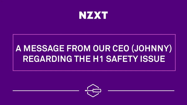 NZXT H1 Safety Issue