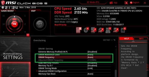 MSI X299 XPOWER GAMING AC_BIOS_OC_21a