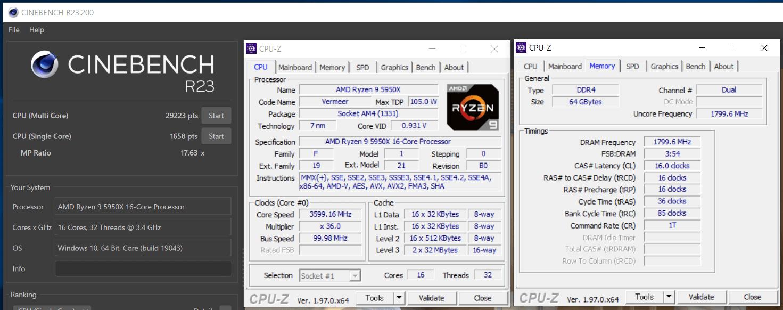 MSI MEG X570S ACE MAX_5950X_OC_Cinebench R23
