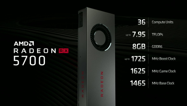 Radeon RX 5700_spec