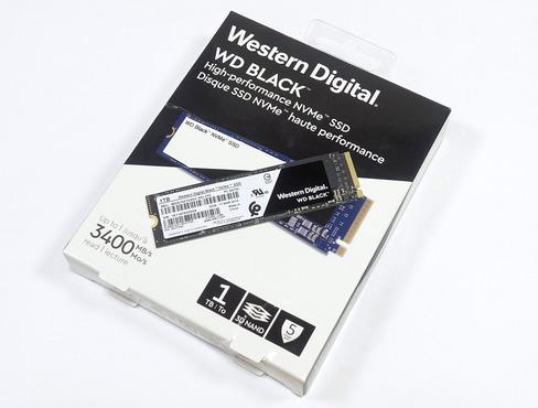 WD Black 3D NVMe SSD 1TB