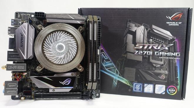 ASUS ROG Strix Z270I Gaming_top