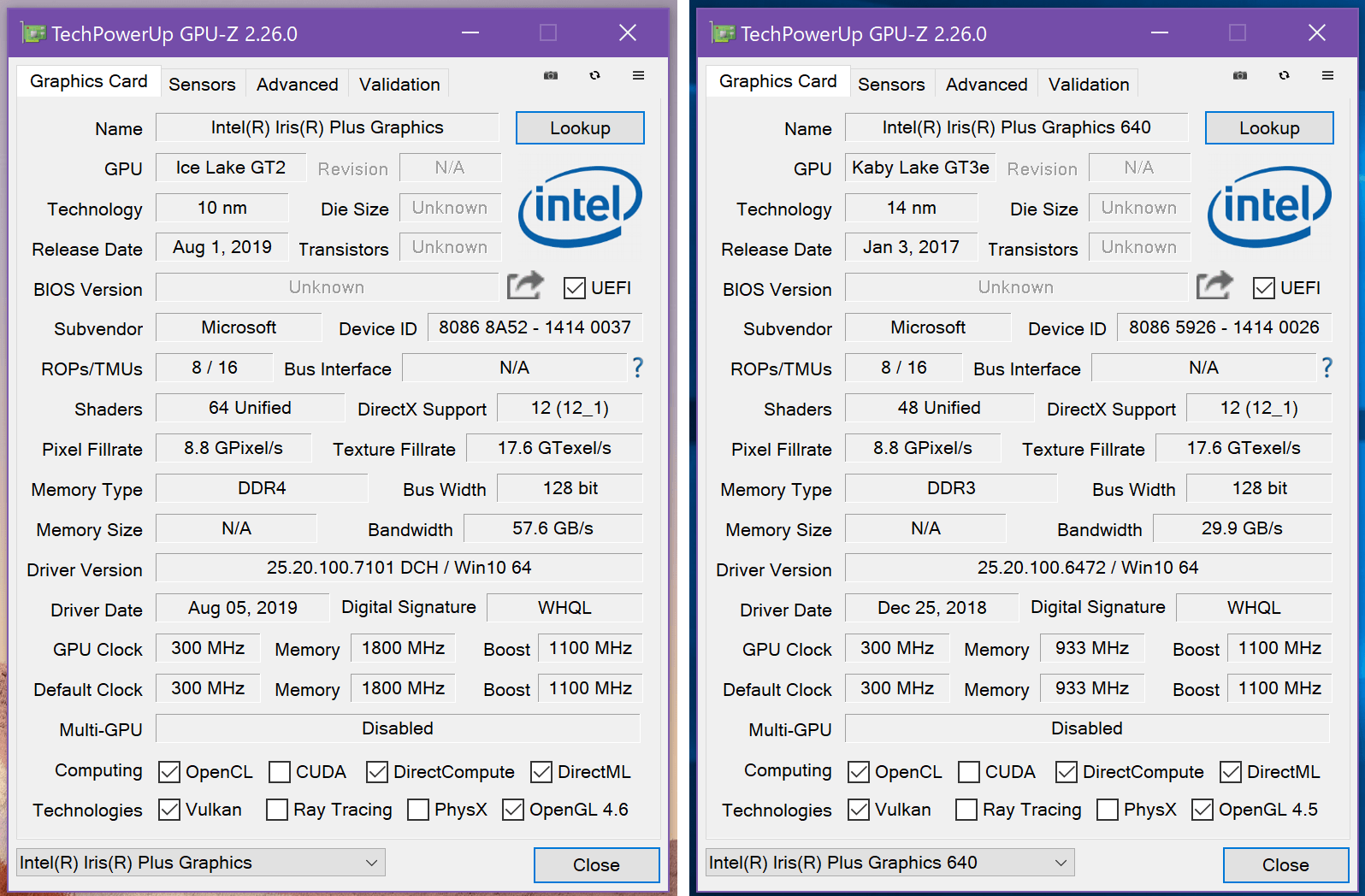 Surface Pro 7+_GPU-Z