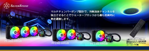 SilverStone PERMAFROST PF-ARGB_top