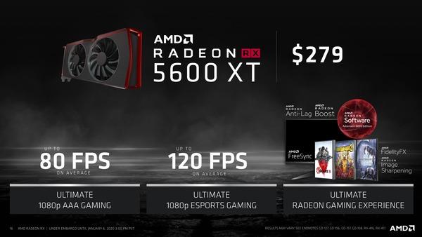 AMD Radeon RX 5600 XT_Ultimate 1080p Gaming
