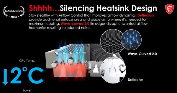 MSI Silencing Heatsink Design