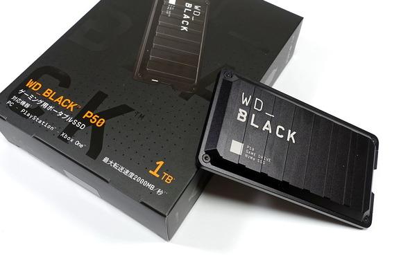 WD_BLACK P50 Game Drive SSD 1TB