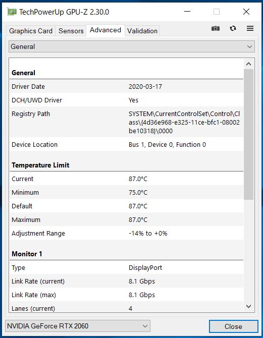 ZOTAC ZBOX Eシリーズ EN52060V_GPU-Z (2)