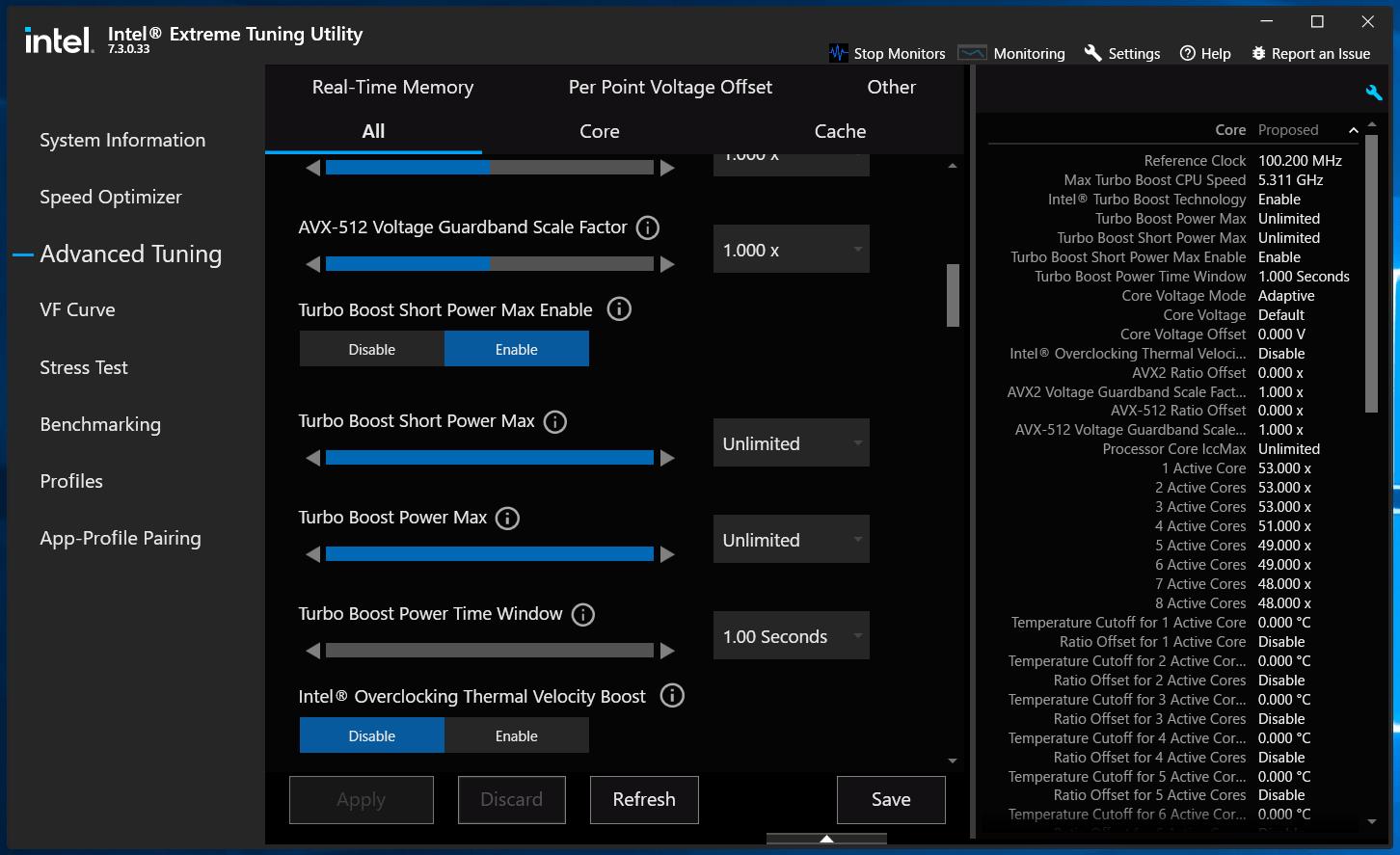 ASUS ROG STRIX Z590-I GAMING WIFI_Core i9 11900K_TDP