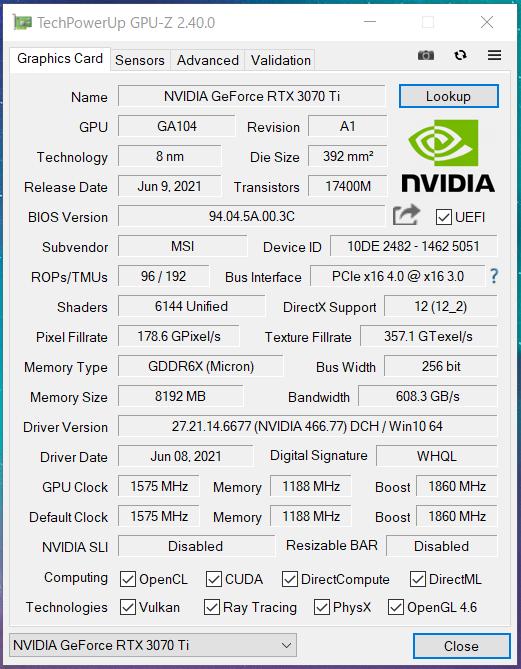 MSI GeForce RTX 3070 Ti SUPRIM X 8G_GPU-Z_Gaming (1)