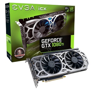 EVGA GeForce GTX 1080 Ti SC2 GAMING (11G-P4-6593-KR)