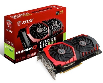 MSI GeForce GTX 1060 GAMING X 6G グラフィックスボード VD6092 GeForce GTX 1060 GAMING X 6G