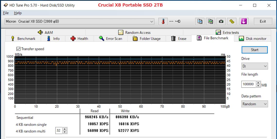 Crucial X8 Portable SSD 2TB_HDT