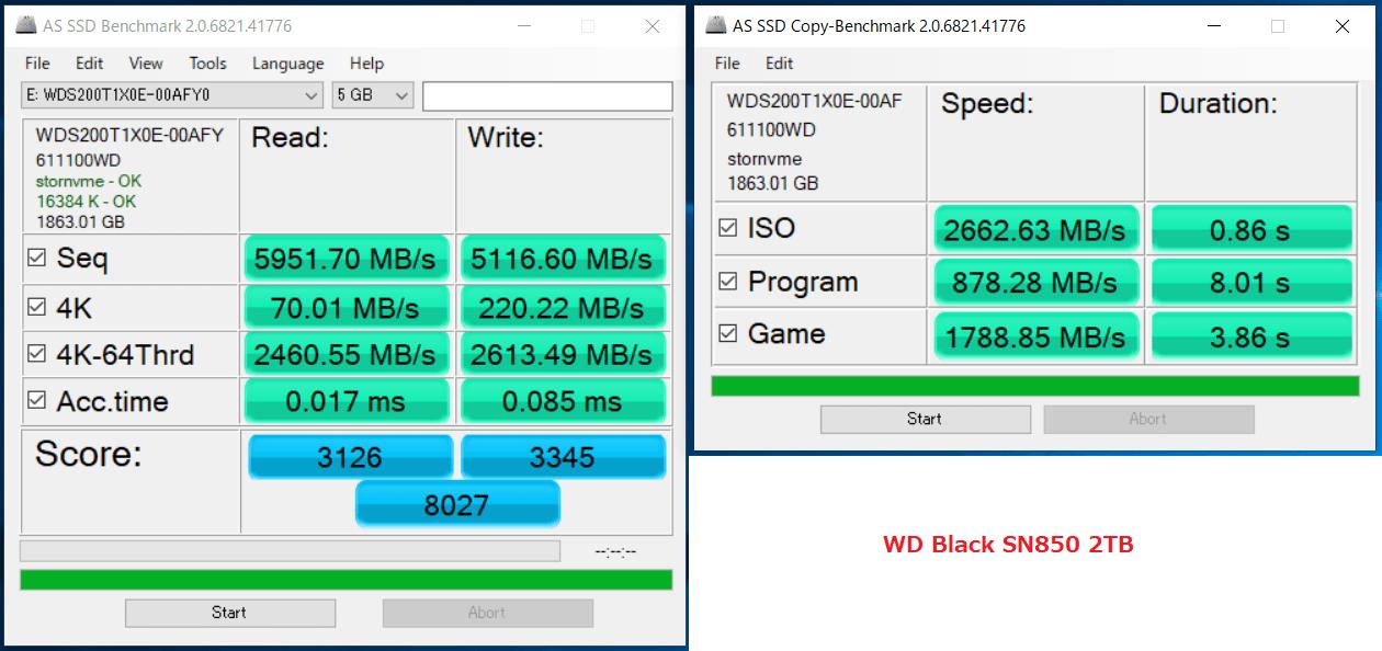 WD_BLACK SN850 NVMe SSD 2TB_AS