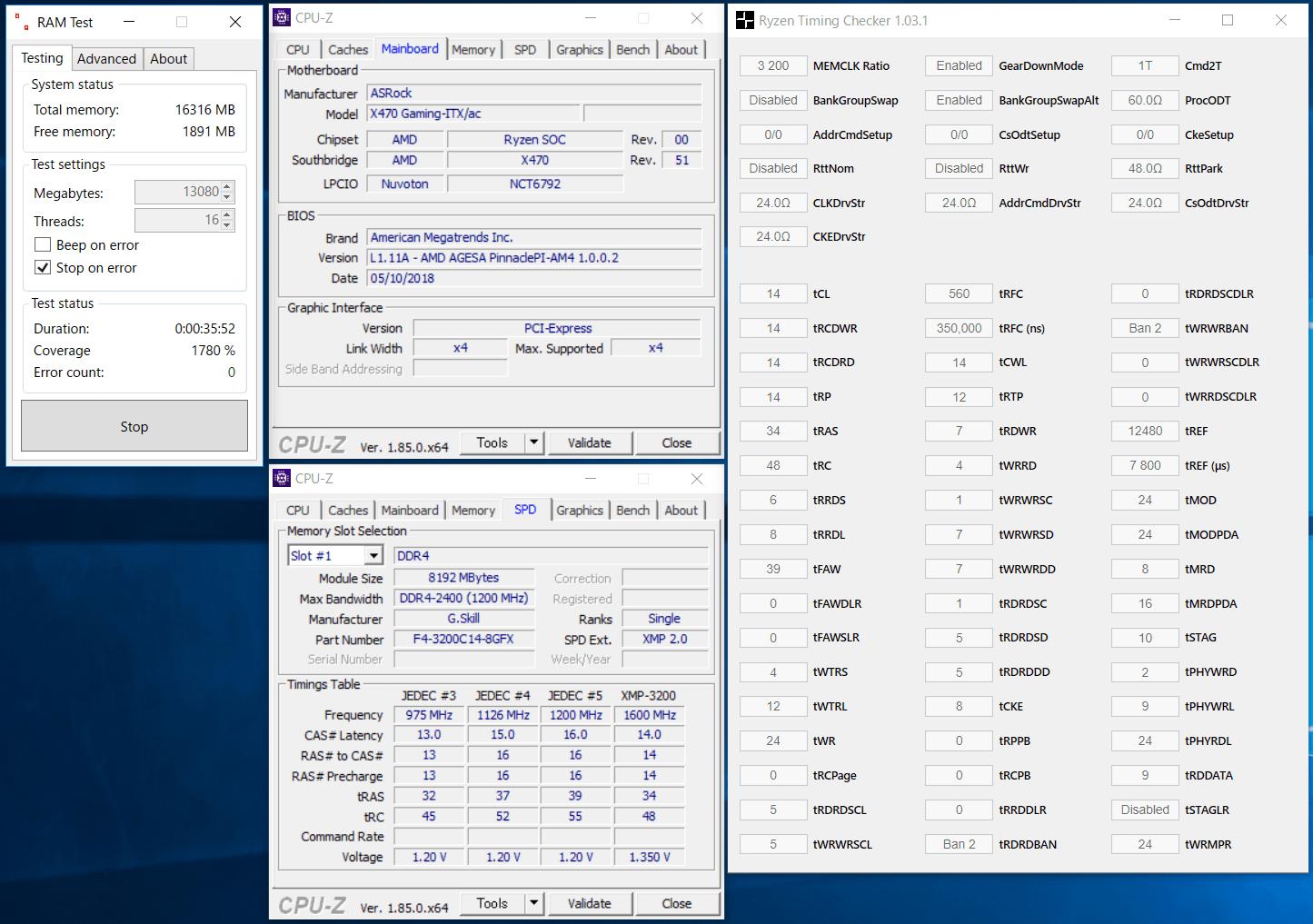 ASRock Fatal1ty X470 Gaming-ITX_ac_OC test_mem_2