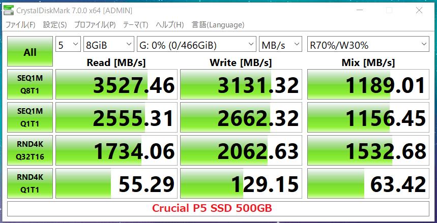 Crucial P5 SSD 500GB_CDM7
