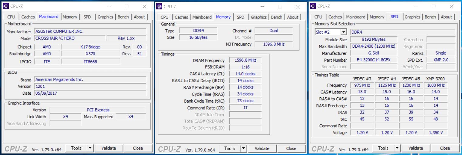 G.Skill FLARE X_XMP3200_ASUS_C6H_1