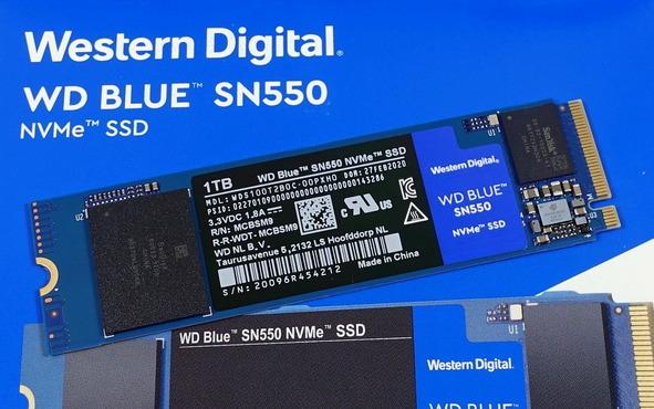 WD Blue SN550 NVMe M.2 SSD 1TB