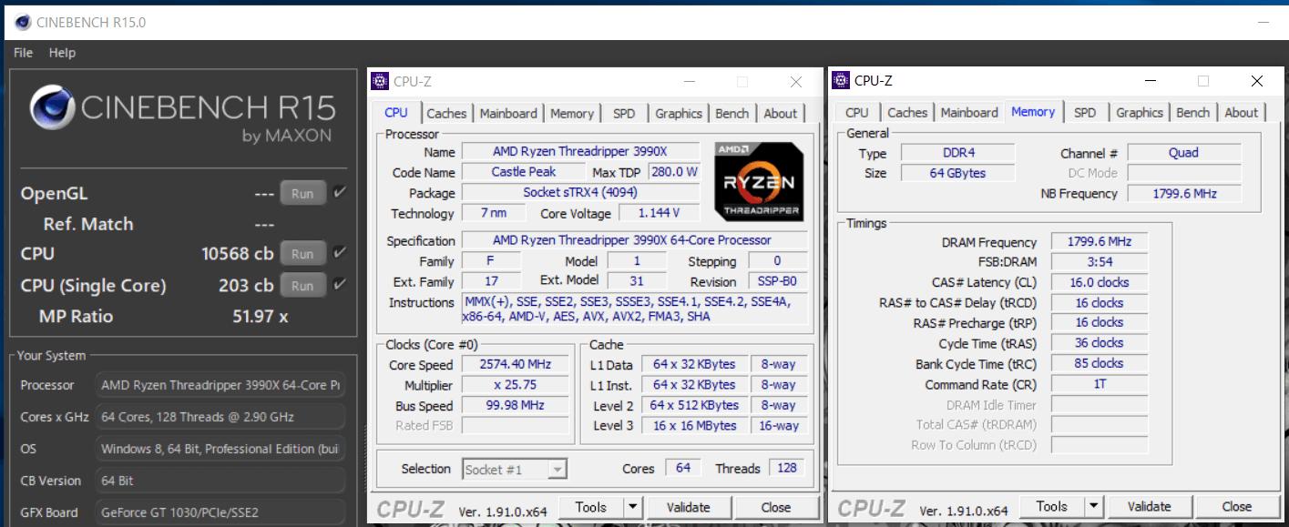 AMD Ryzen Threadripper 3990X_cinebench-R15