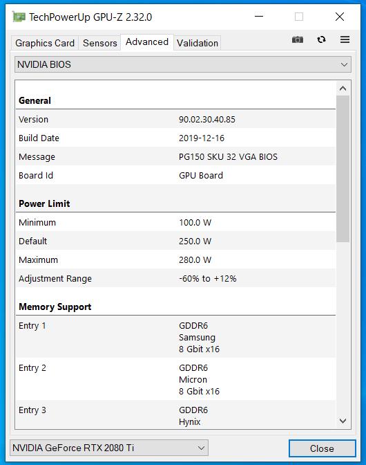 G-Master Hydro Z490_RTX 2080 Ti_GPU-Z (3)