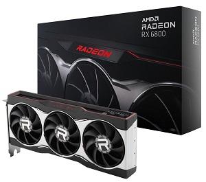 AMD Radeon RX 6800 リファレンスモデル