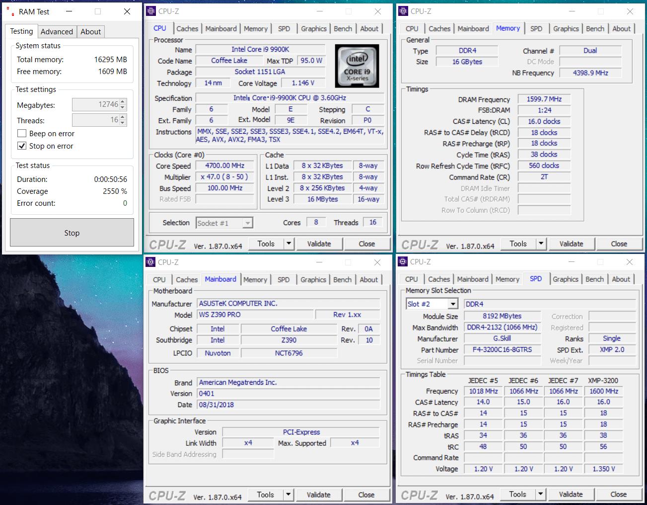 F4-3200C16D-16GTRS_OC_Core i9 9900K_Z390
