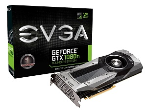 EVGA GeForce GTX 1080 Ti FOUNDERS EDITION (11G-P4-6390-KR)