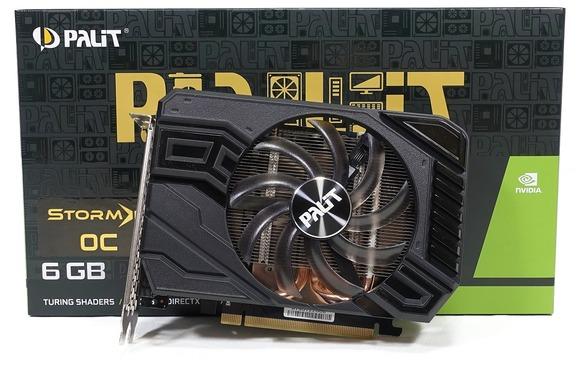 Palit GeForce GTX 1660 Ti 6GB StormX OC