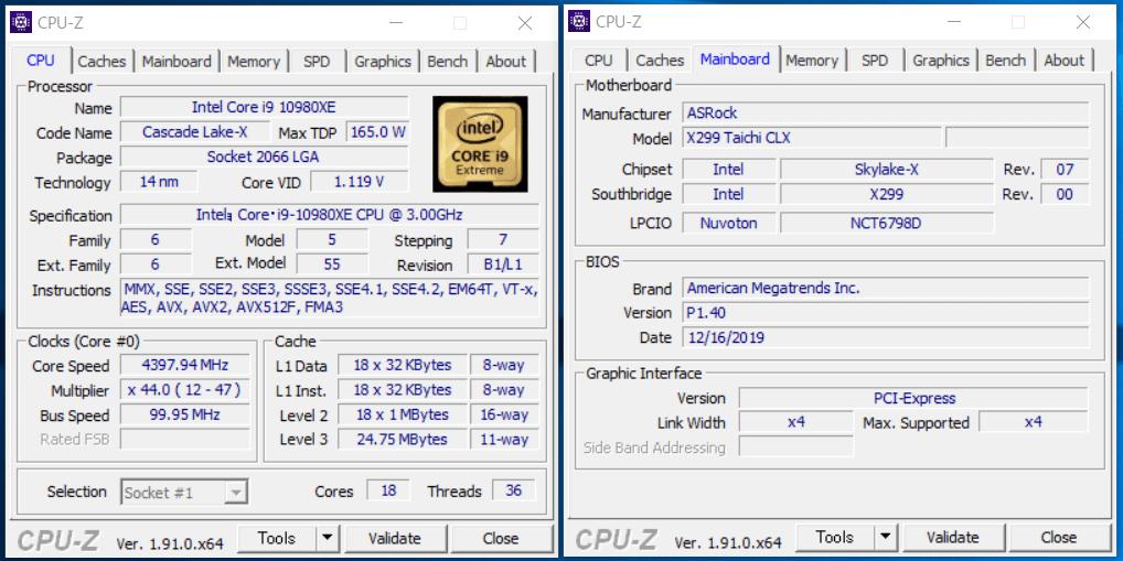 ASRock X299 Taichi CLX_OC-test_CPU-Z_1
