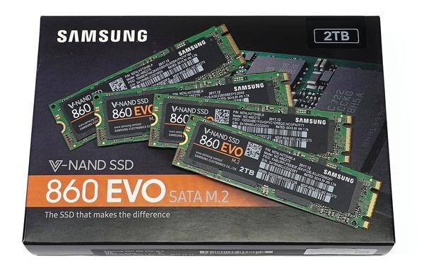 「Samsung SSD 860 EVO M.2 2TB」をレビュー