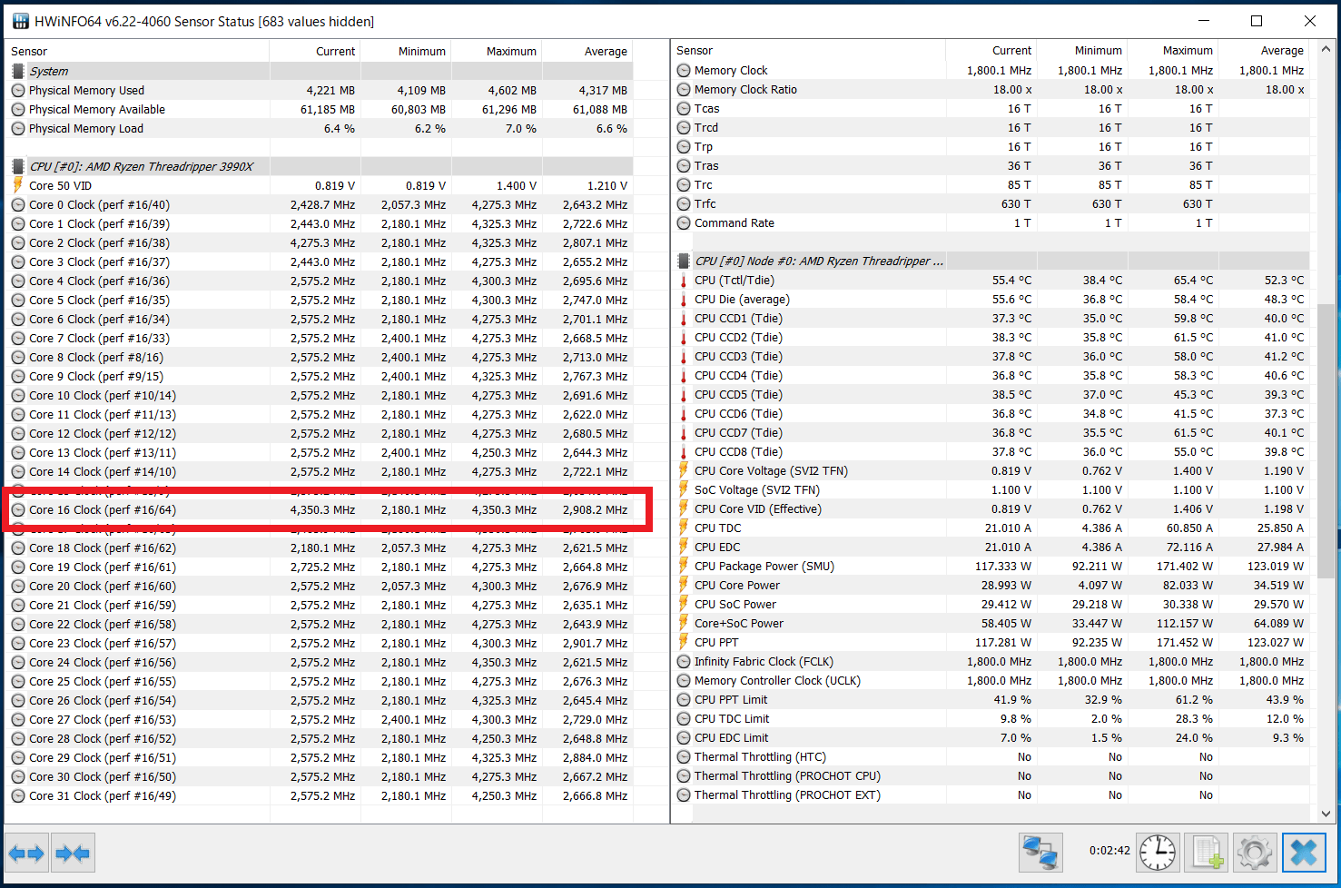 AMD Ryzen Threadripper 3990X_Core-Clock_Boost_Single