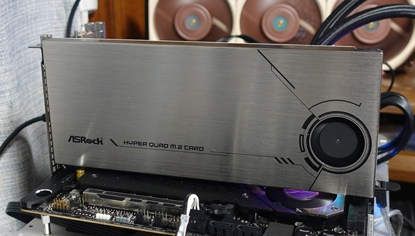 ASRock Hyper Quad M2 Card