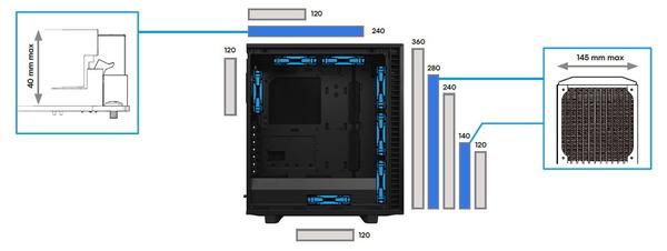 Fractal Design Meshify 2 Compact_Radiator