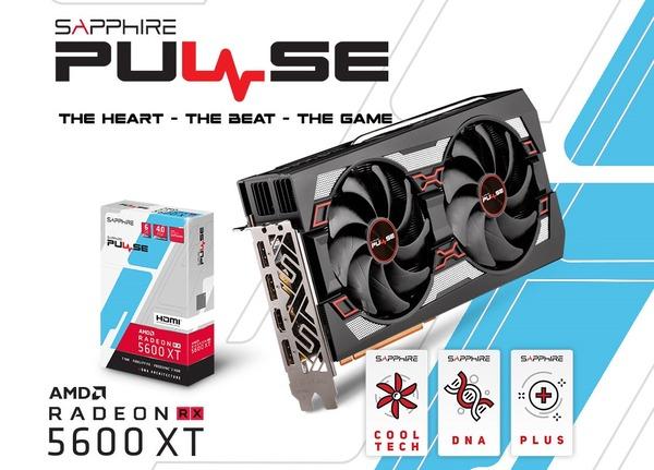 SAPPHIRE PULSE Radeon RX 5600 XT 6G GDDR6_top