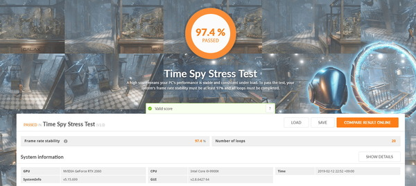 GeForce RTX 2060 Founders Edition_TimeSpy Stress Test