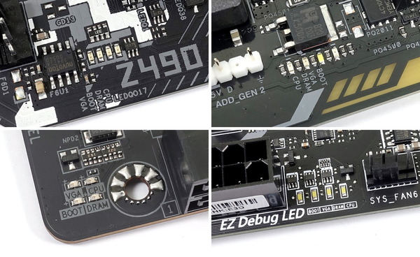 Intel Z490_Debug LED