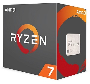 AMD Ryzen 7 1800X 8コア16スレッド (YD180XBCAEWOF)