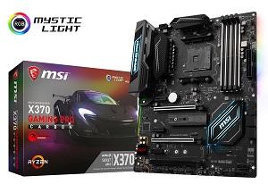 MSI X370 GAMING PRO CARBON ATXマザーボード