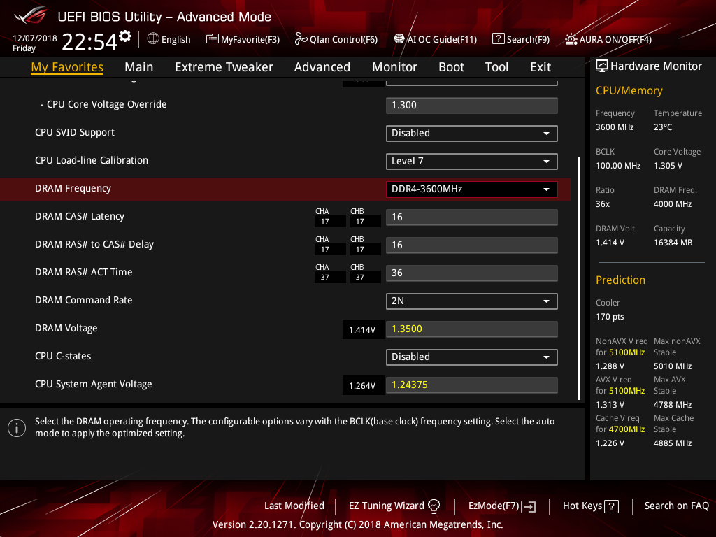 Core i9 9900K_OC_BIOS (2)
