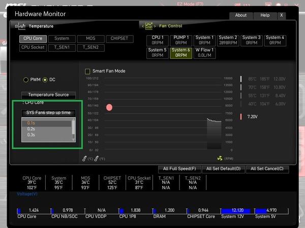 MSI MEG X570S ACE MAX_BIOS_Fan_6