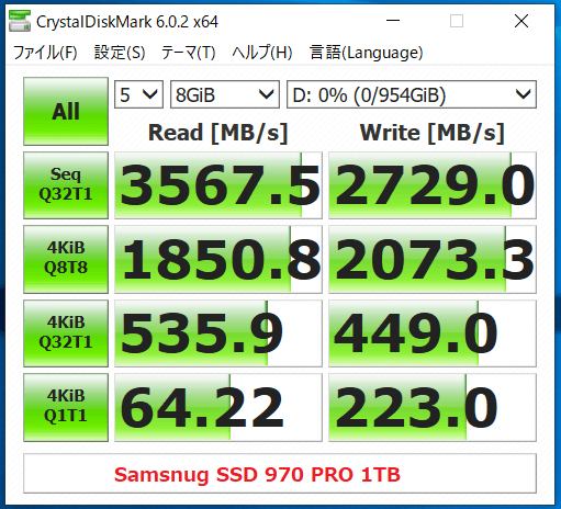 Samsnug SSD 970 PRO 1TB_CDM